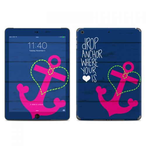 Drop Anchor iPad Air Skin