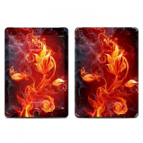 Flower Of Fire iPad Air Skin