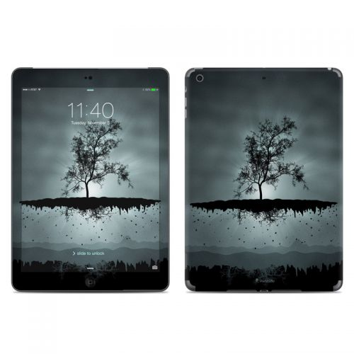 Flying Tree Black iPad Air Skin