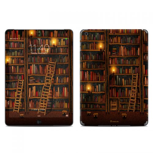 Library iPad Air Skin