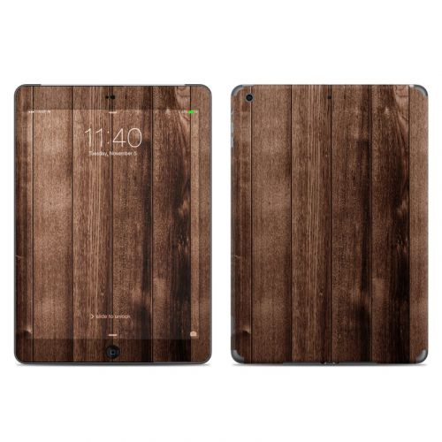 Stained Wood iPad Air Skin