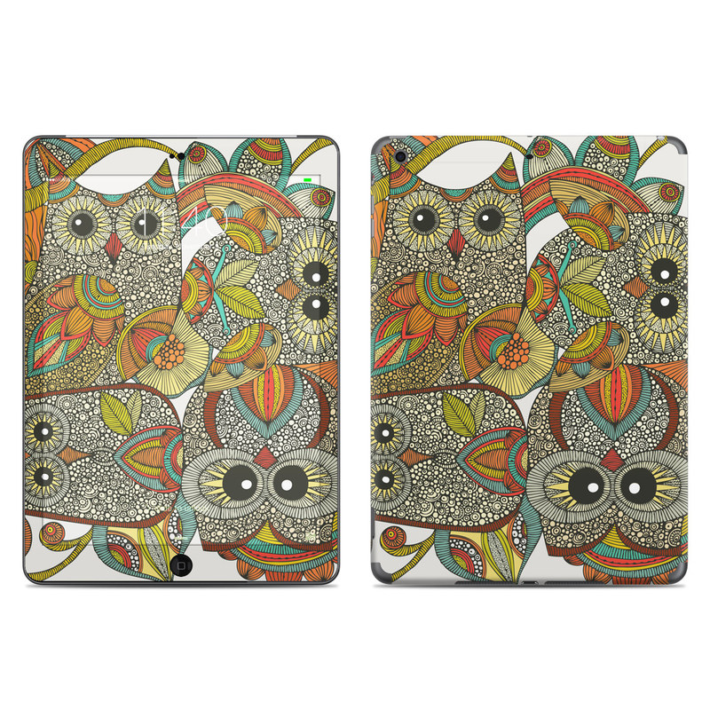 4 owls iPad Air Skin