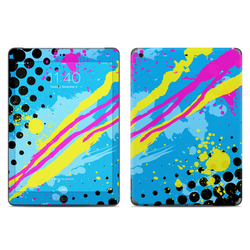 Acid iPad Air Skin