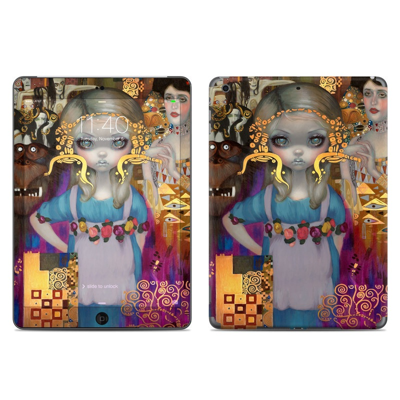 Alice in a Klimt Dream iPad Air Skin