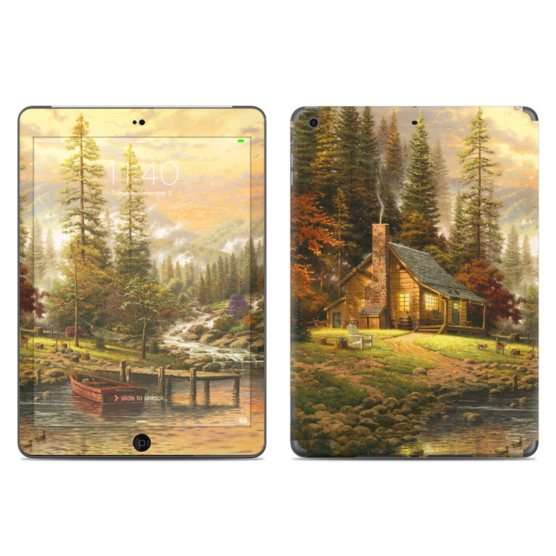 A Peaceful Retreat iPad Air Skin