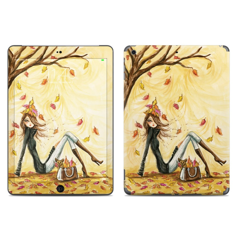Autumn Leaves iPad Air Skin