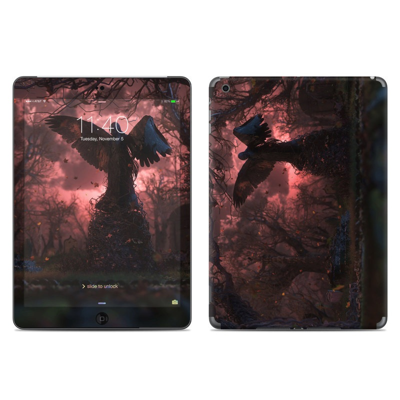 Black Angel iPad Air Skin