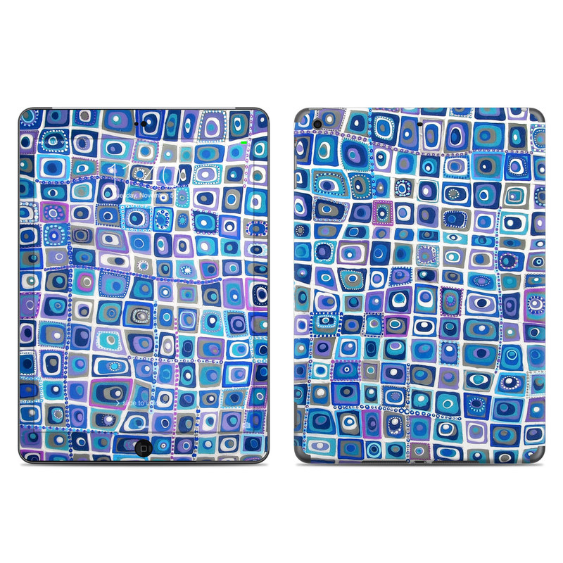 Blue Monday iPad Air Skin