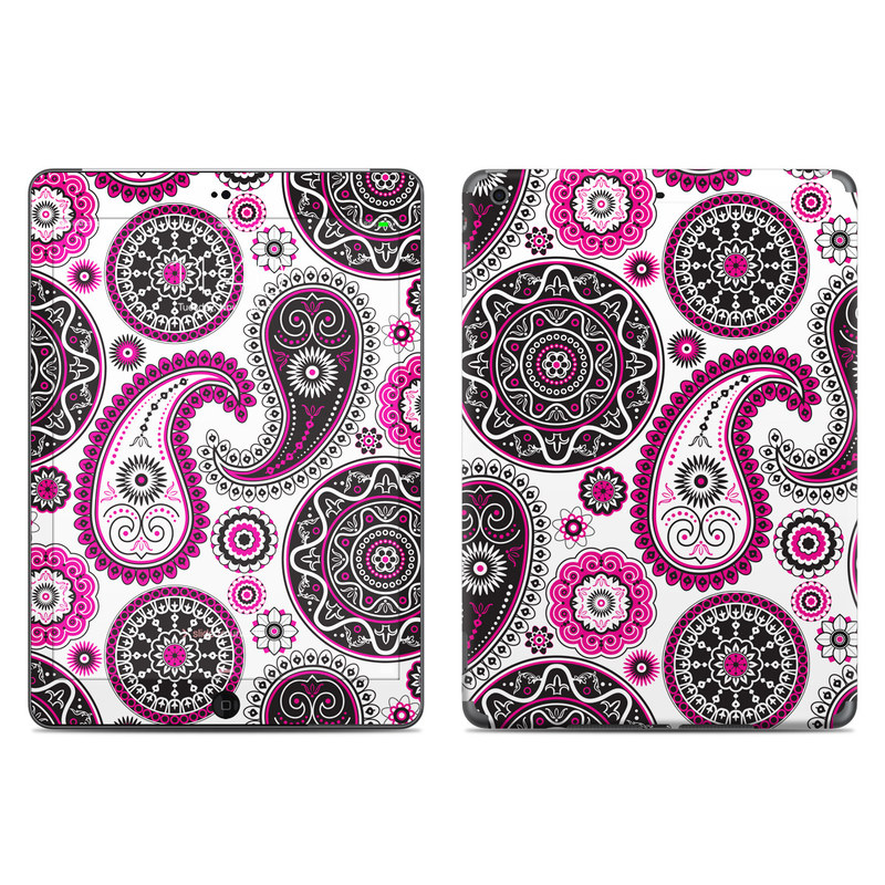 Boho Girl Paisley iPad Air Skin