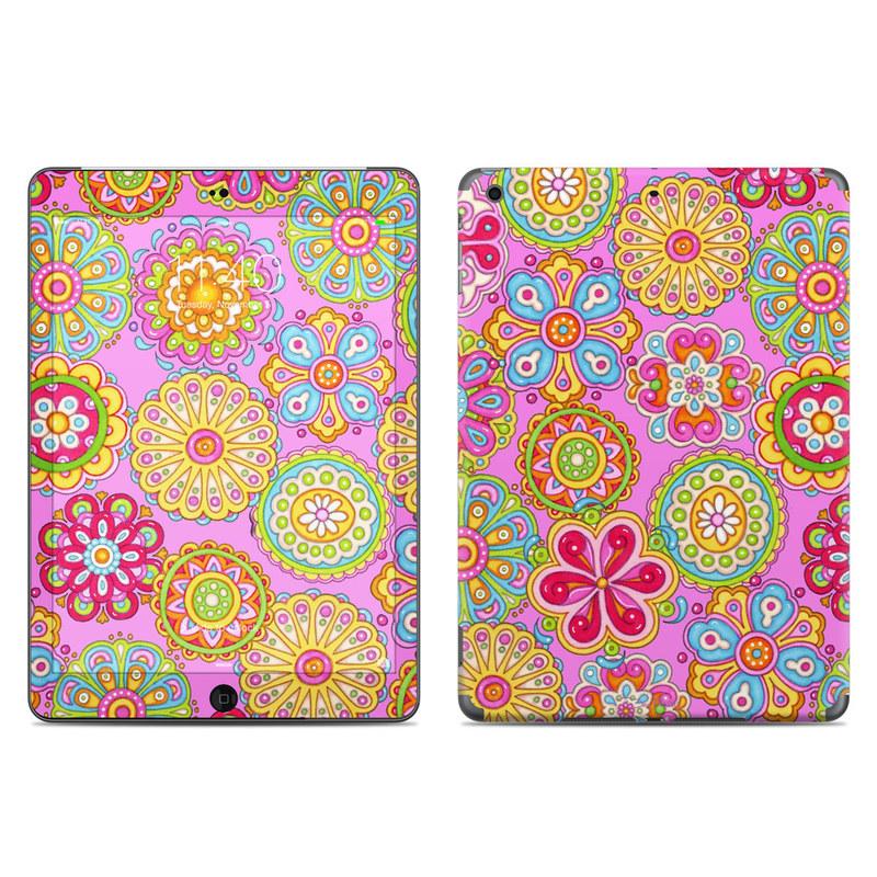 Bright Flowers iPad Air Skin