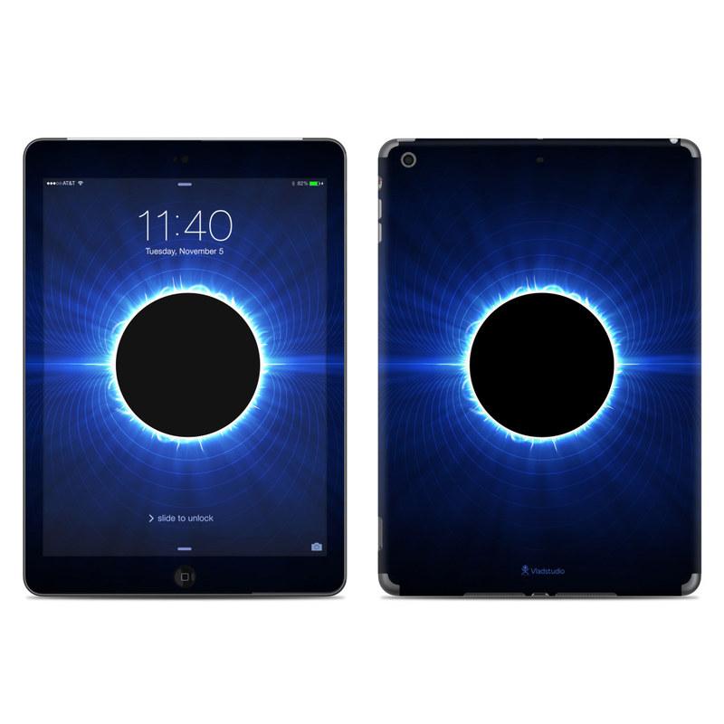 Blue Star Eclipse iPad Air Skin