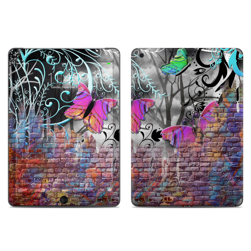 Butterfly Wall iPad Air Skin
