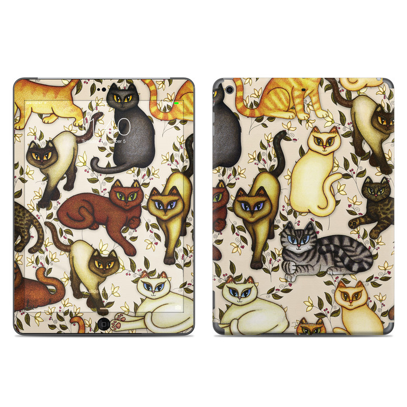 Cats iPad Air Skin
