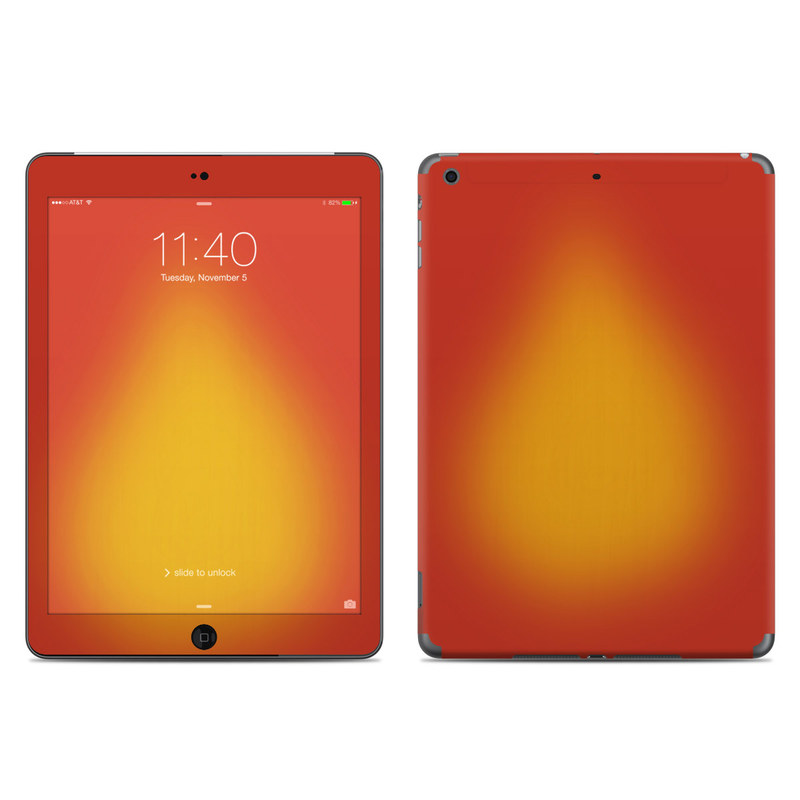 Cherry Sunburst iPad Air Skin