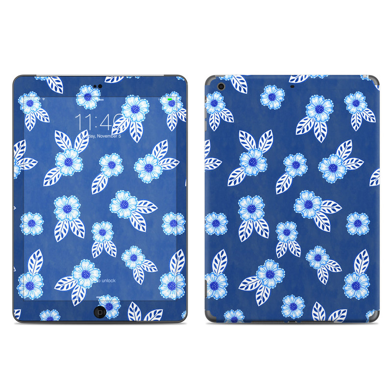China Blue iPad Air Skin