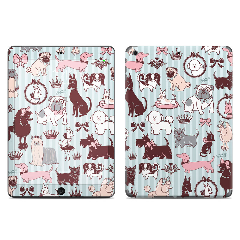 Doggy Boudoir iPad Air Skin