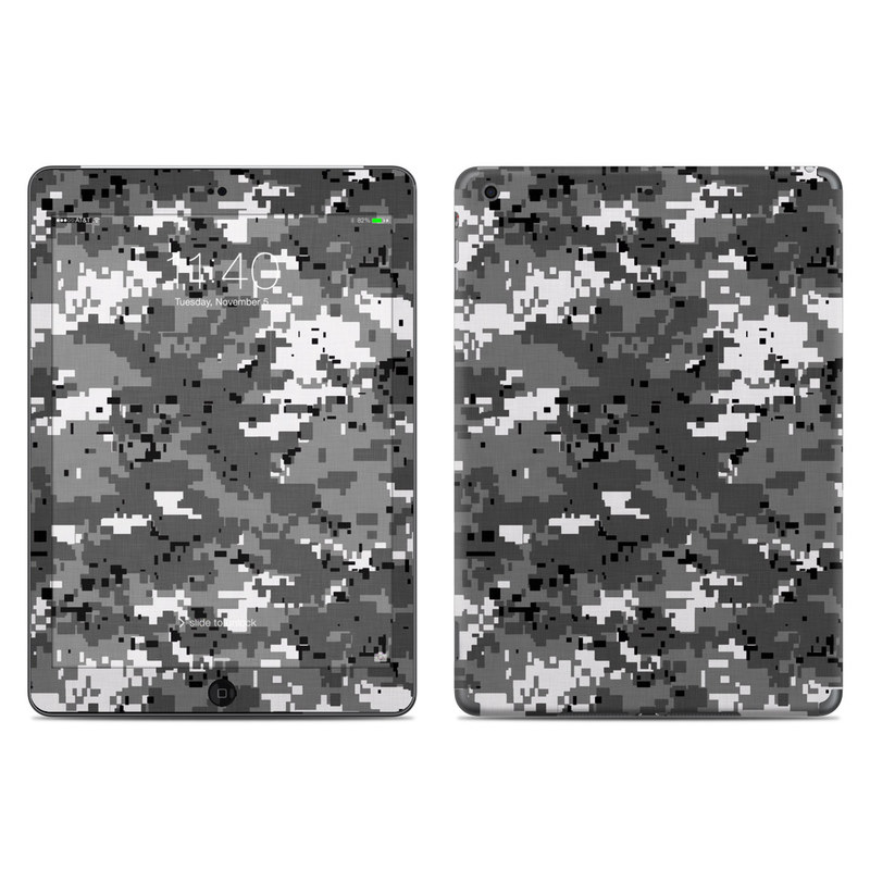 Digital Urban Camo iPad Air Skin