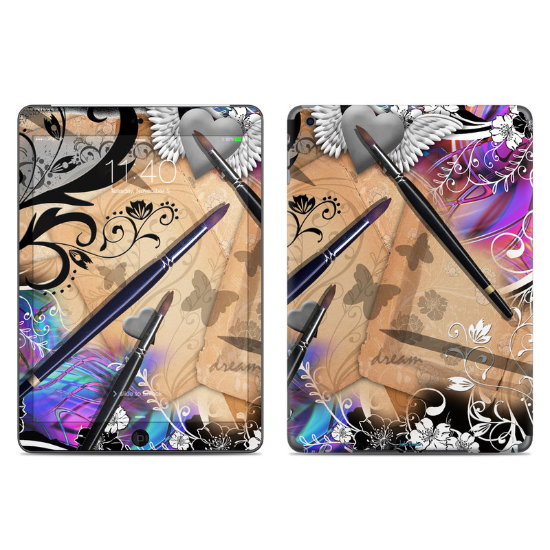 Dream Flowers iPad Air Skin