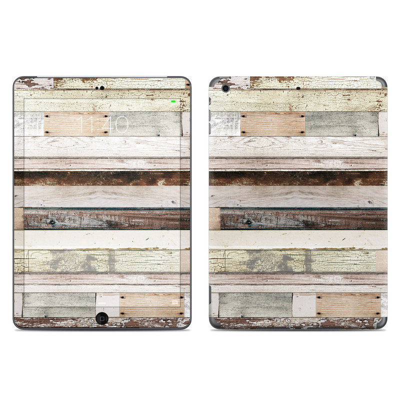 Eclectic Wood iPad Air Skin