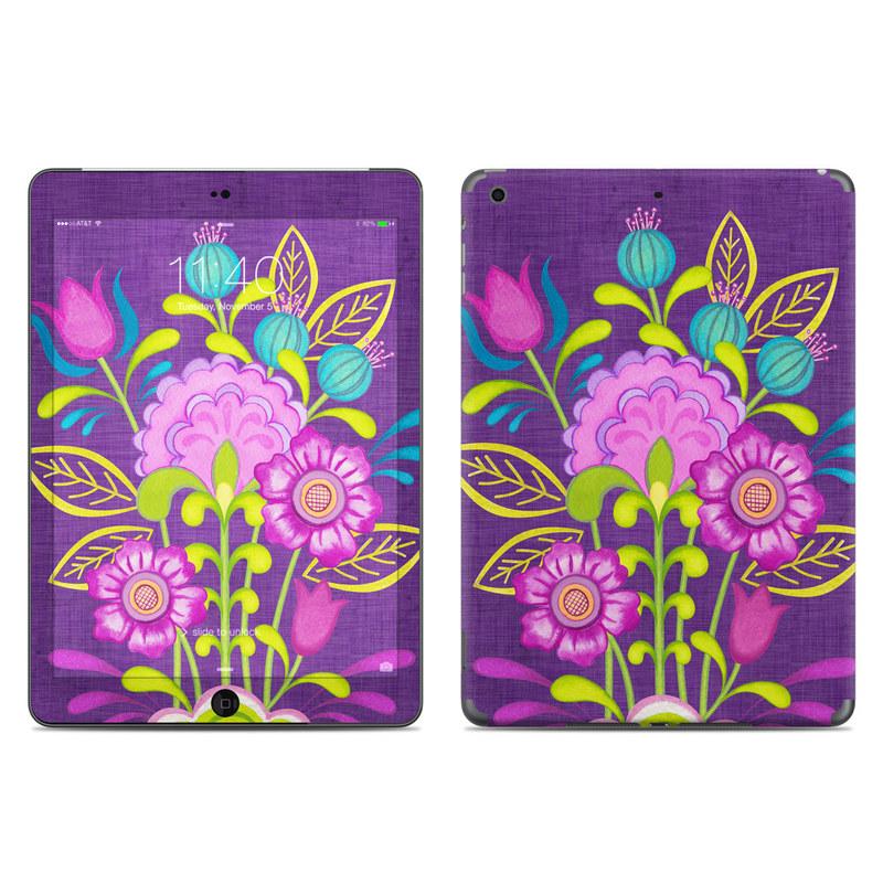 Floral Bouquet iPad Air Skin