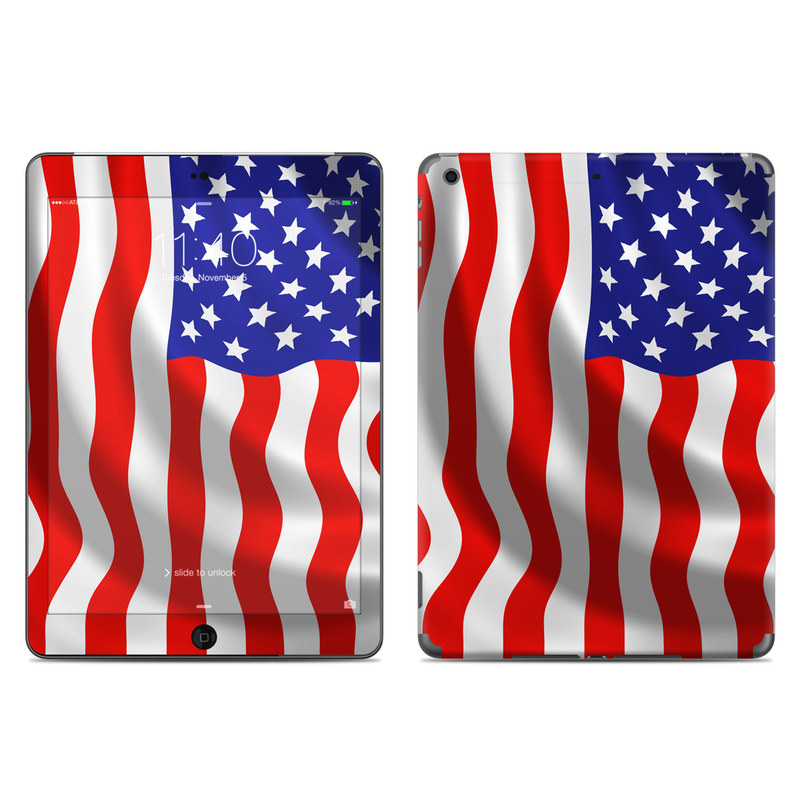 USA Flag iPad Air Skin