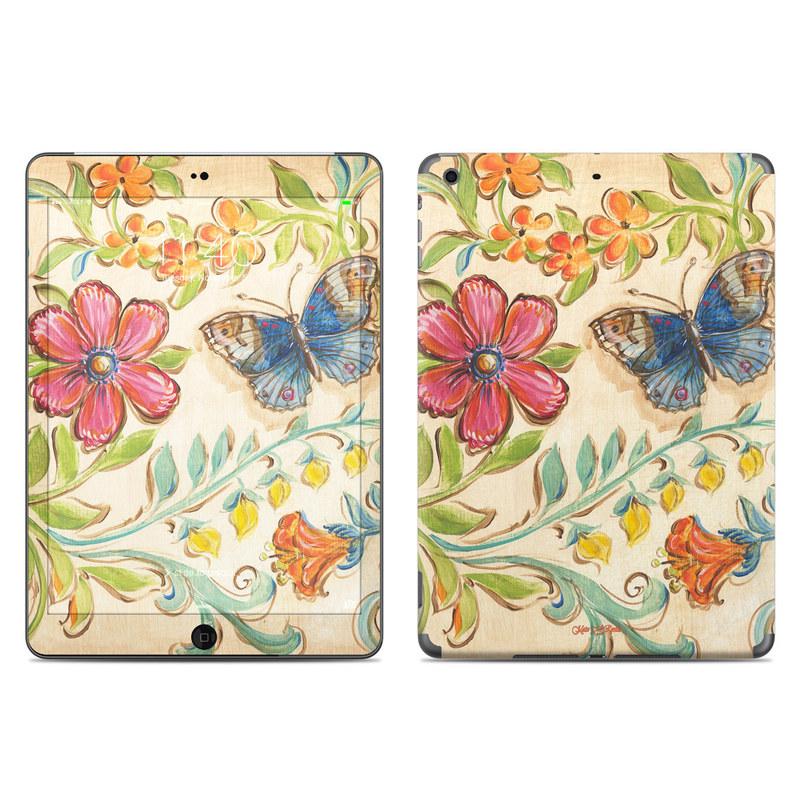 Garden Scroll iPad Air Skin