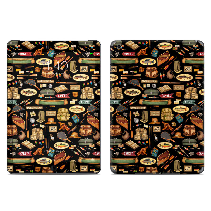Gone Fishing iPad Air Skin