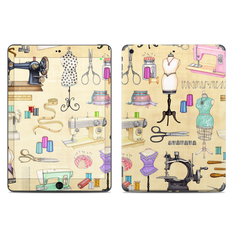 Haberdashery iPad Air Skin