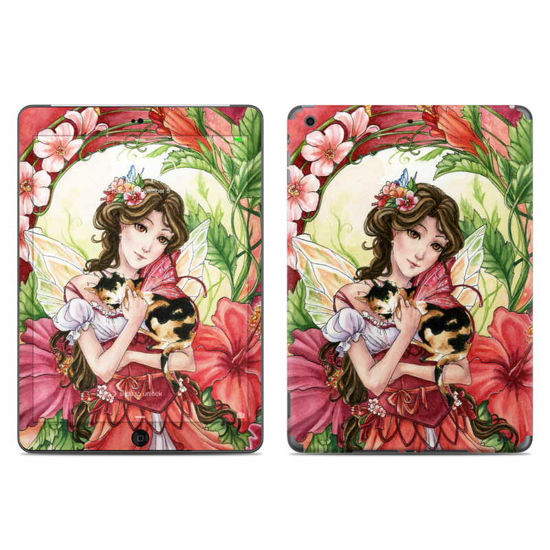 Hibiscus Fairy iPad Air Skin
