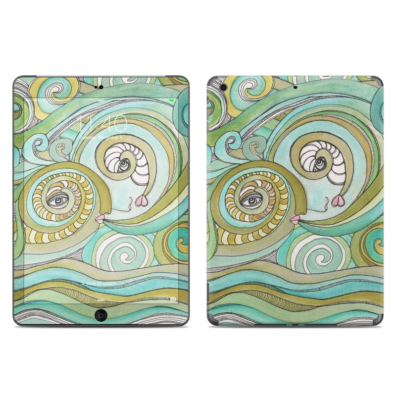 Honeydew Ocean iPad Air Skin