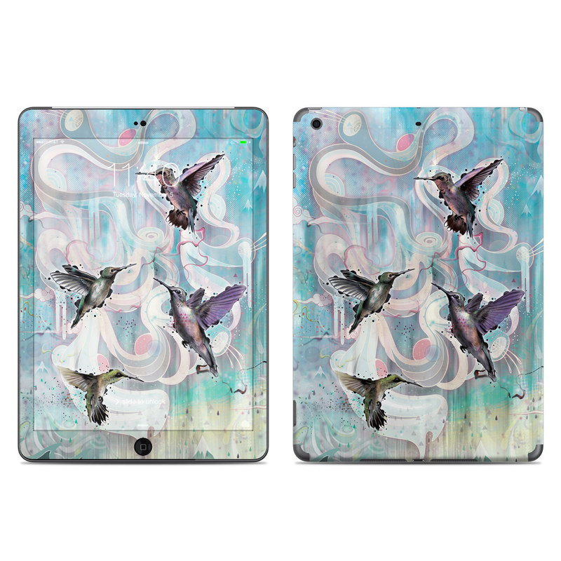 Hummingbirds iPad Air Skin