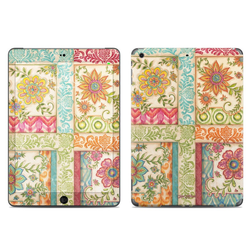 Ikat Floral iPad Air Skin
