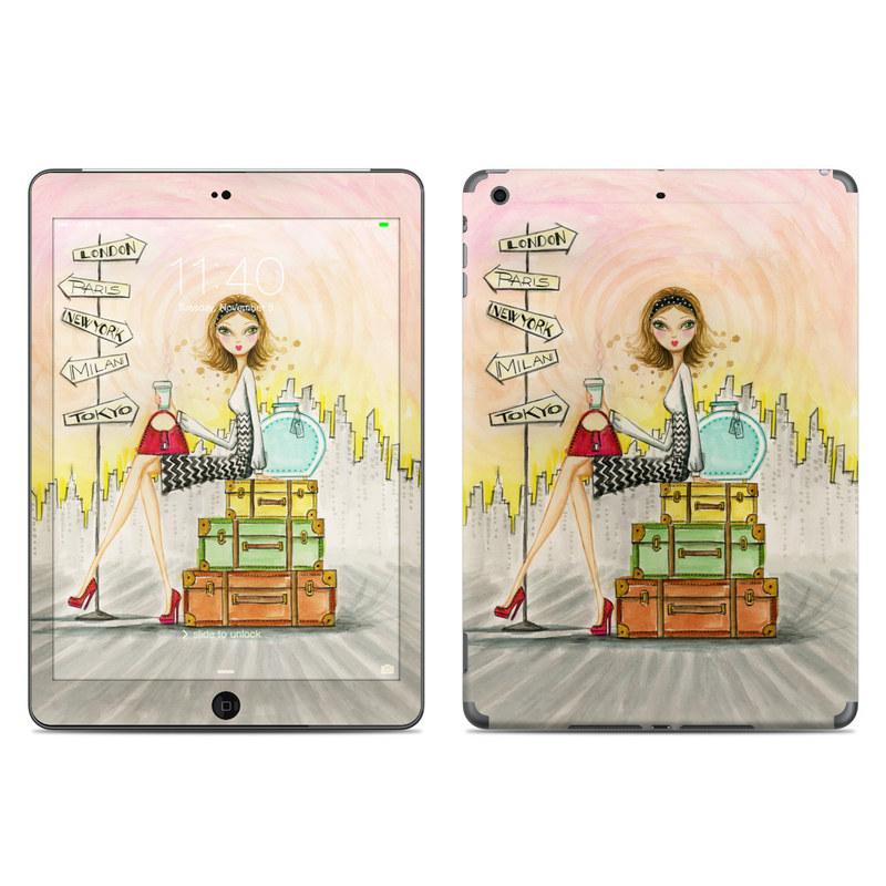 The Jet Setter iPad Air Skin