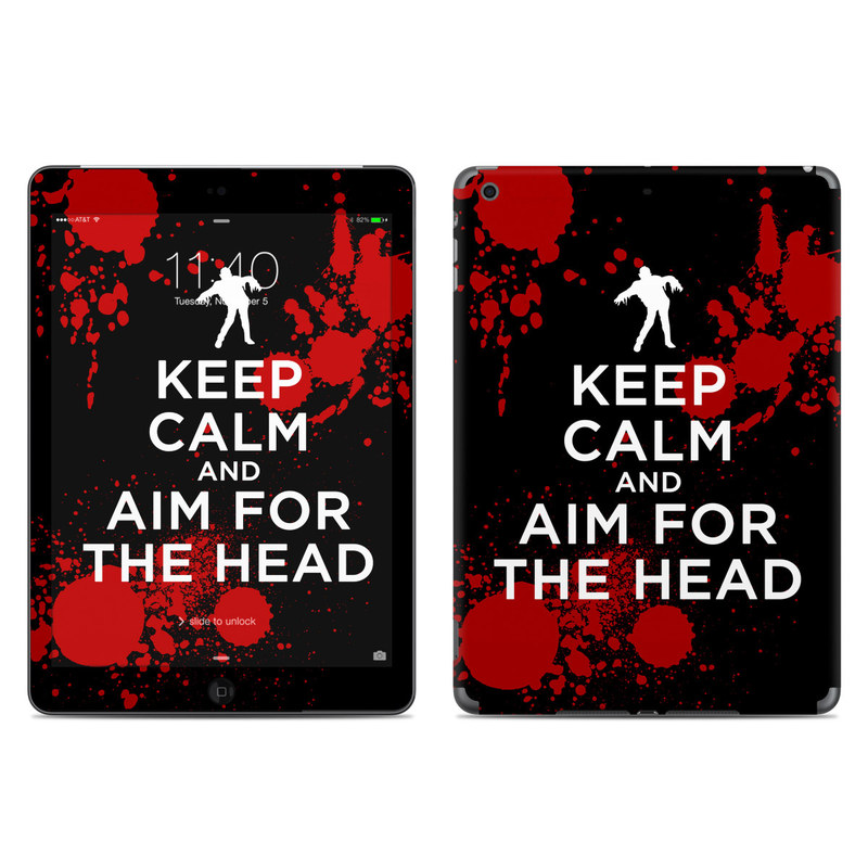 Keep Calm - Zombie iPad Air Skin
