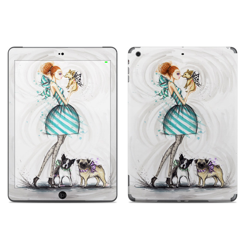 A Kiss for Dot iPad Air Skin