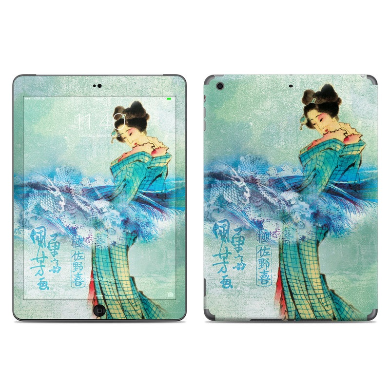 Magic Wave iPad Air Skin