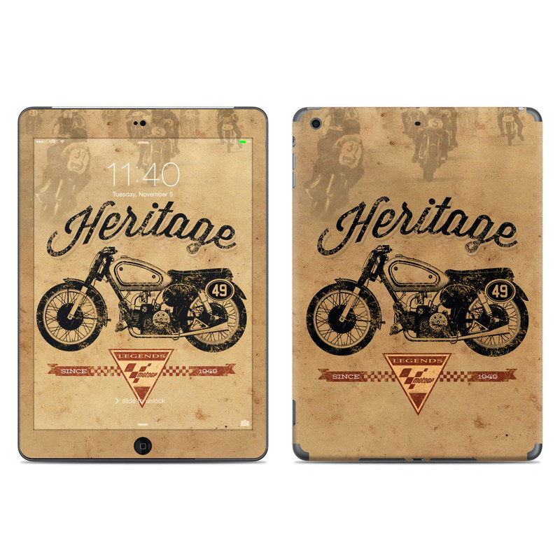MotoGP Heritage iPad Air Skin