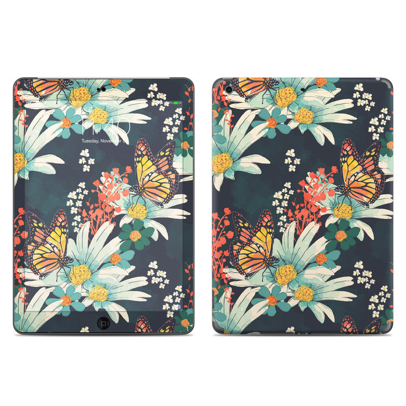 Monarch Grove iPad Air Skin