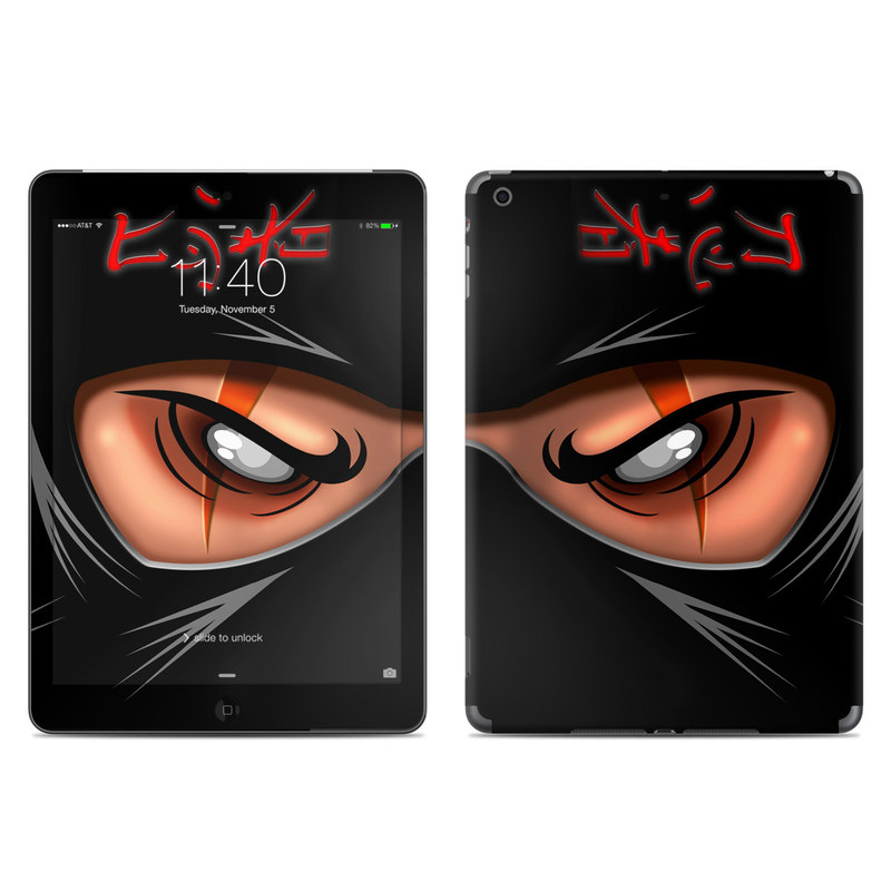 Ninja iPad Air Skin