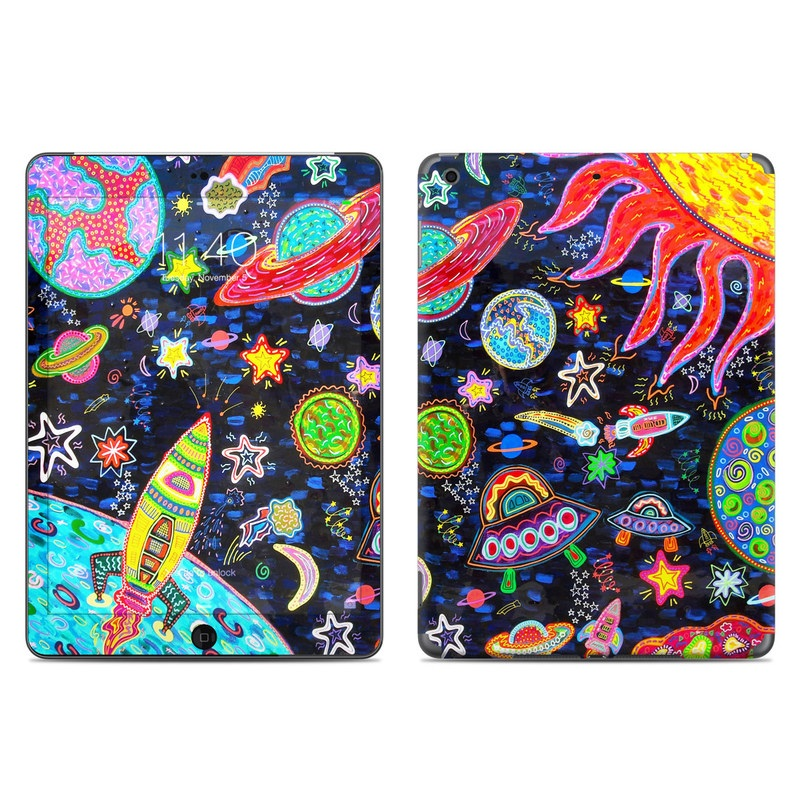 Out to Space iPad Air Skin