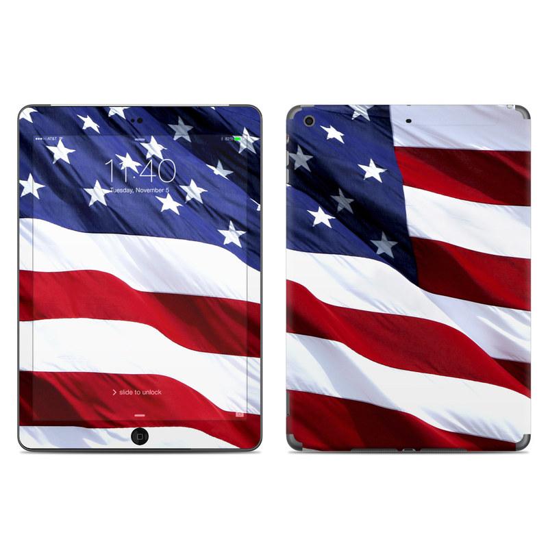 Patriotic iPad Air Skin