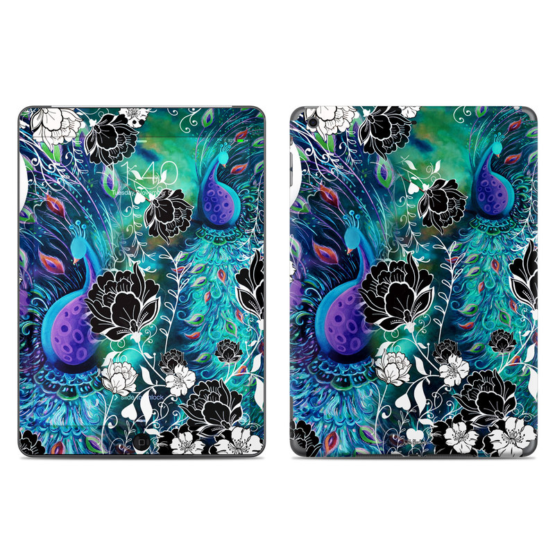 Peacock Garden iPad Air Skin