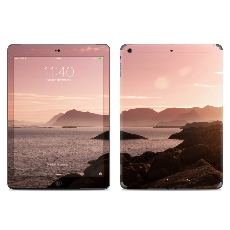 Pink Sea iPad Air Skin