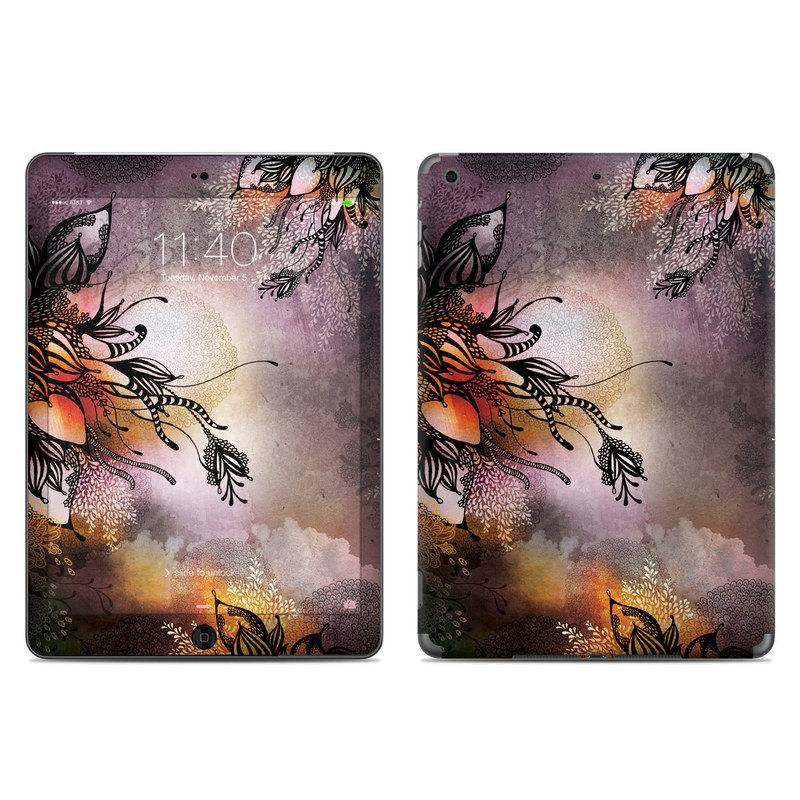 Purple Rain iPad Air Skin