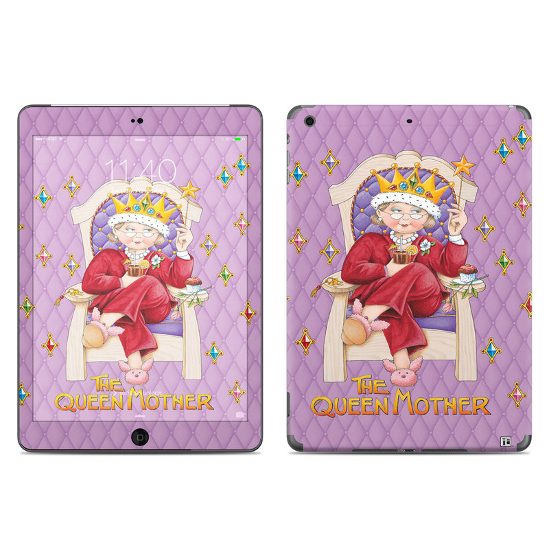 Queen Mother iPad Air Skin