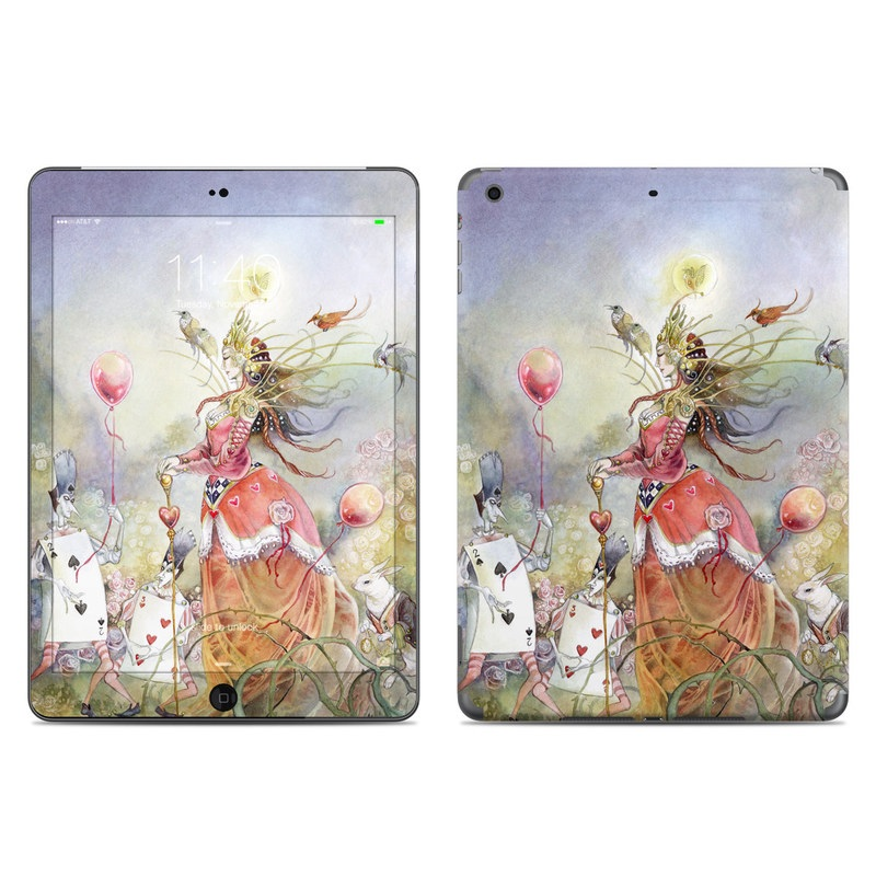 Queen of Hearts iPad Air Skin