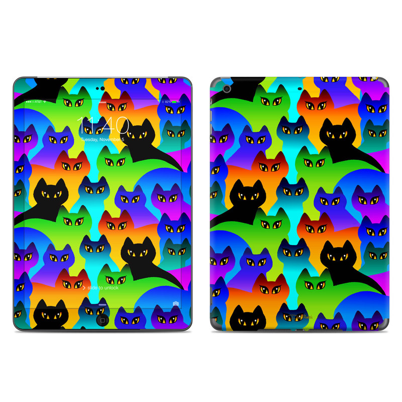 Rainbow Cats iPad Air Skin