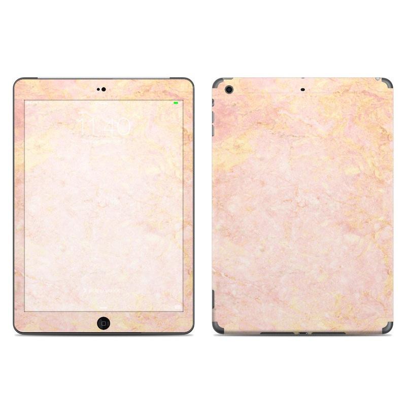 Rose Gold Marble iPad Air Skin