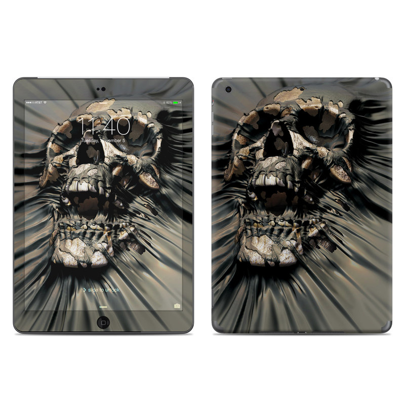 Skull Wrap iPad Air Skin