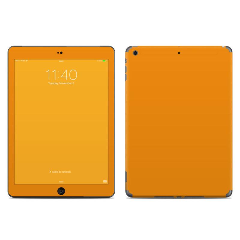 Solid State Orange iPad Air Skin